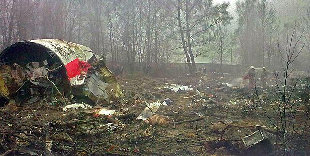 Katastrofa w Smoleńsku. Foto: CC/wikimedia