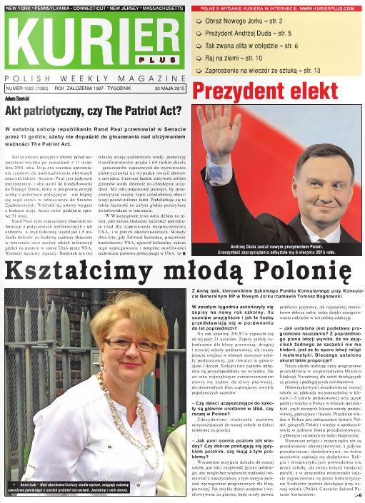 Kurier Plus - e-wydanie 30 maja 2015
