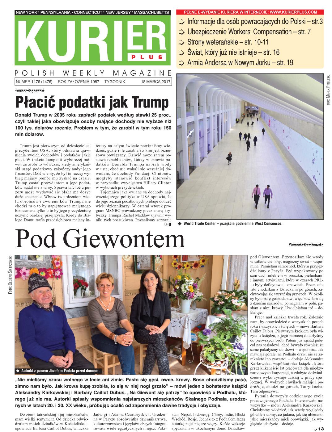 Kurier Plus e-wydanie 18 marca 2017