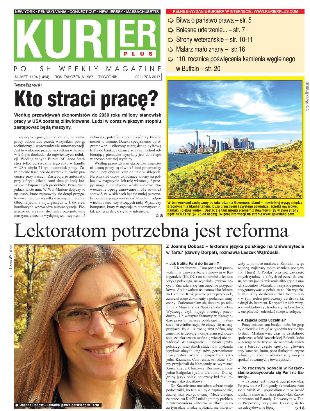 Kurier Plus - e-wydanie 22 lipca 2017