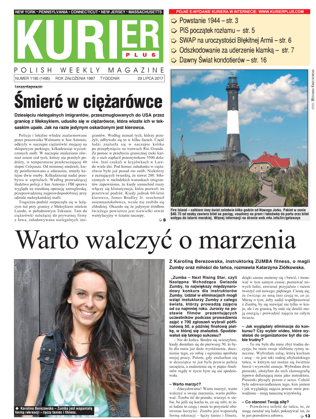 Kurier Plus- e-wydanie 29 lipca 2017