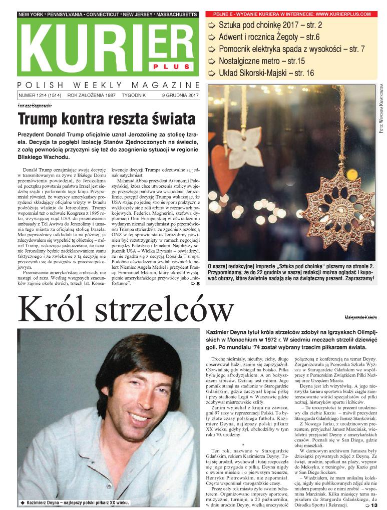 Kurier Plus - e-wydanie 9 grudnia 2017