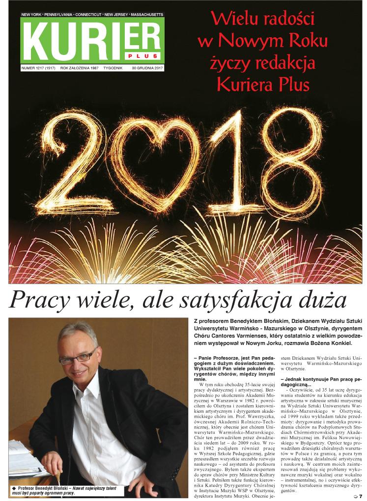 Kurier Plus - e-wydanie 30 grudnia 2017