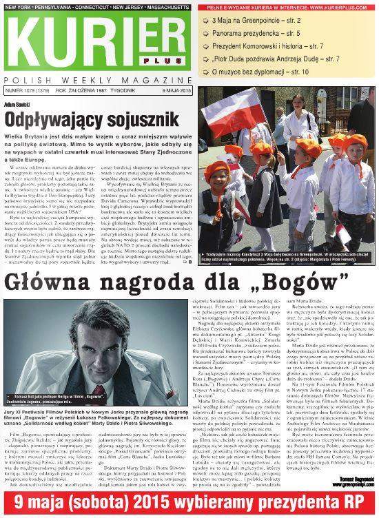 Kurier Plus - e-wydanie 9 maja 2015