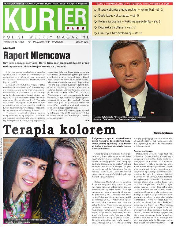 Kurier Plus e-wydanie 16 maja 2015