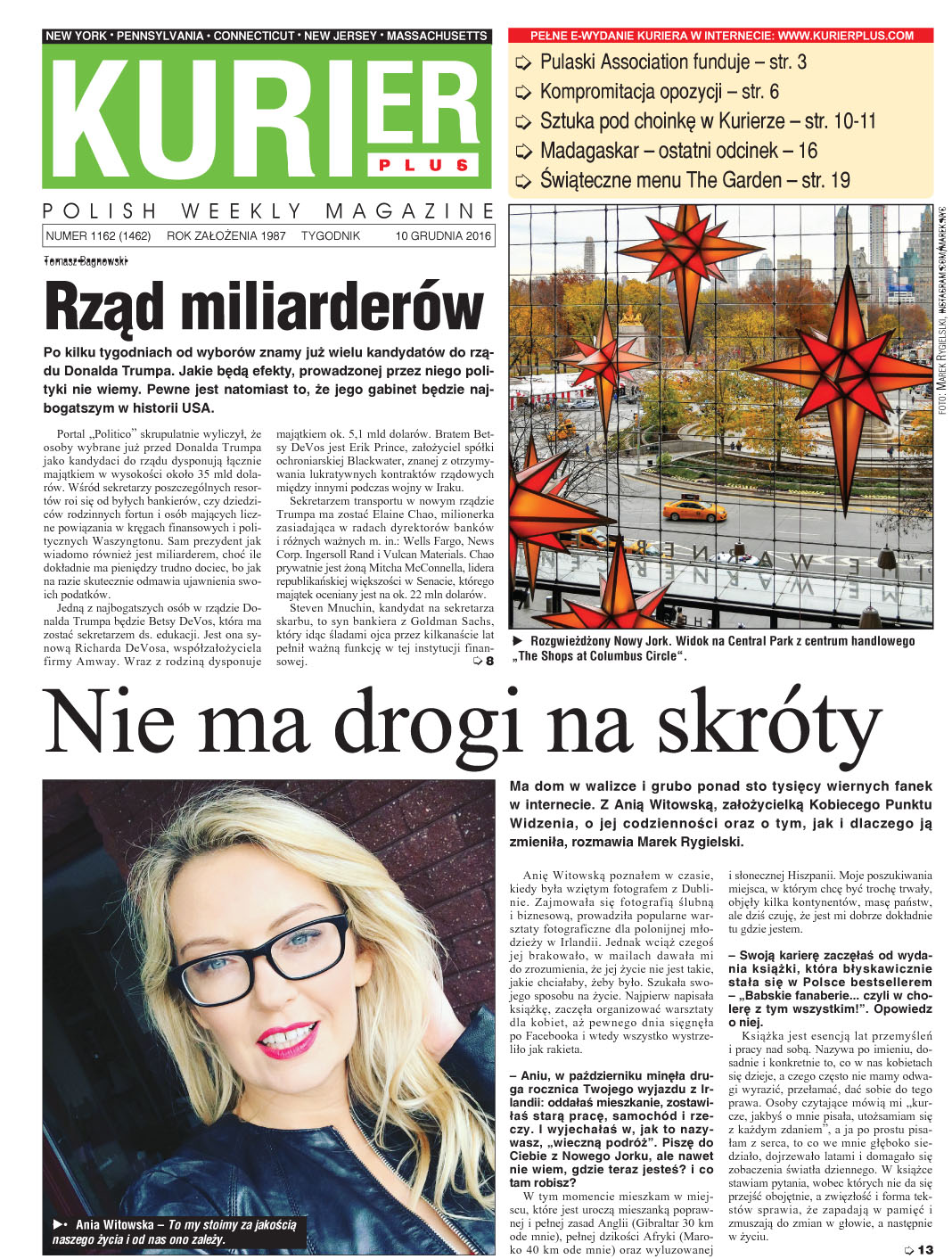 Kurier Plus - e-wydanie 10 grudnia 2016