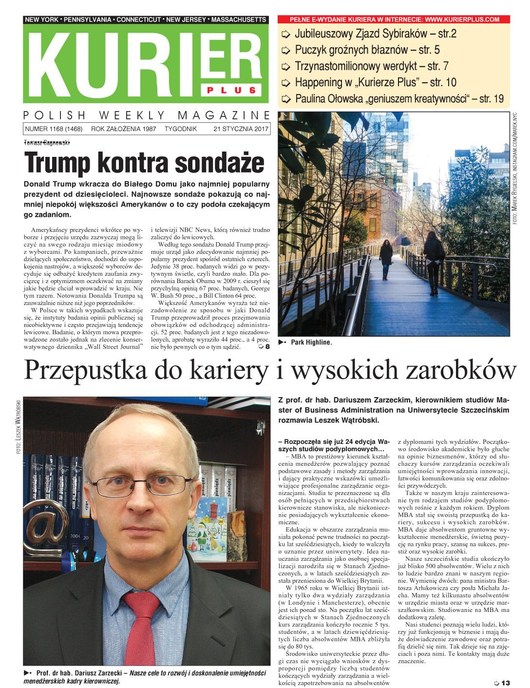 Kurir Plus - e-wydanie 21 stycznia 2017
