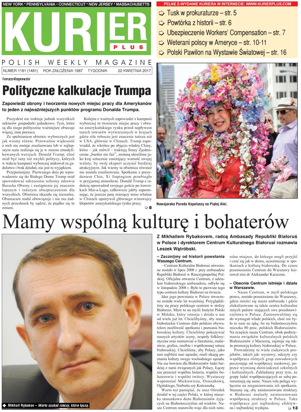 Kurier Plus - e-wydanie 22 kwietnia 2017