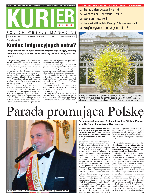 Kurier Plus - e-wydanie 9 września 2017