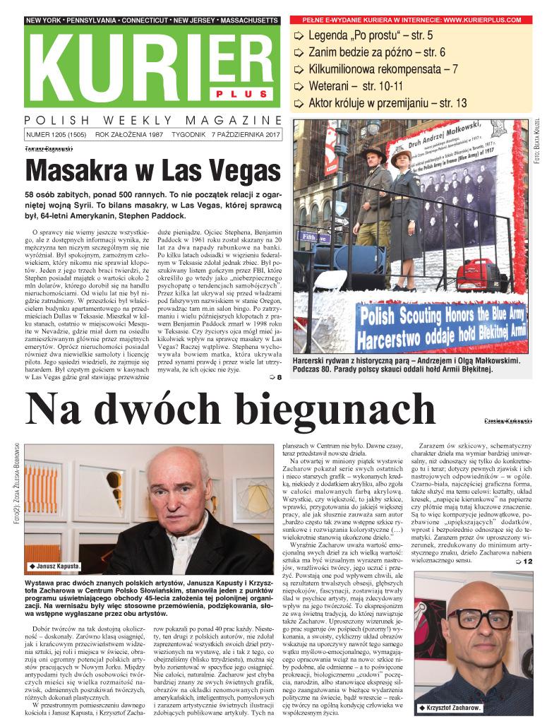 Kurier Plus: 7 października 2017